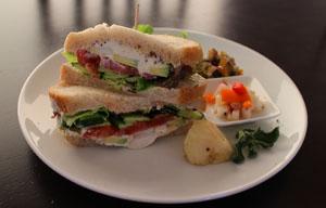 自家製サンドウィッチセット